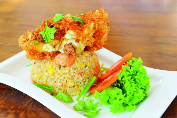 ◆Crispy Egg & Prawns Friend Rice