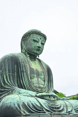 去东京不可错过镰仓这小镇,图为镰仓最著名的大佛。
