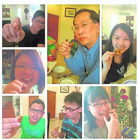 """以环保为号召,研究虫虫专家李昭扬博士力推虫虫大餐!他表示昆虫为""""含有丰富的蛋白质和脂肪、维生素、矿物质等,是健康的食用资源,而且吃虫还能救粮荒""""。"""
