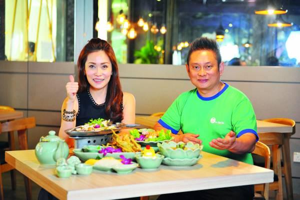 老板Ken和Jacquelynn 兄妹俩不断研发改良即美味且不失风味的泰国餐。