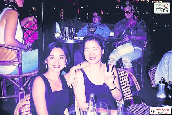 林青霞表示,在巴黎与邓丽君相见,是最快乐的时光。