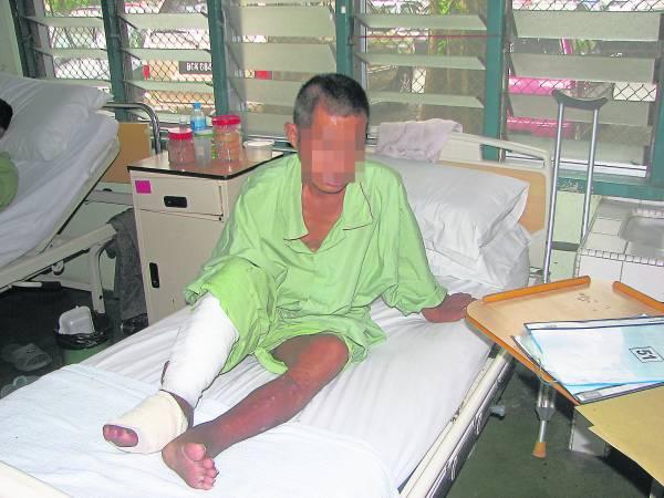 这是陈松华最后一次在医院见阿福的身影,在2009 年与他失去联络后,从此不再相遇过。