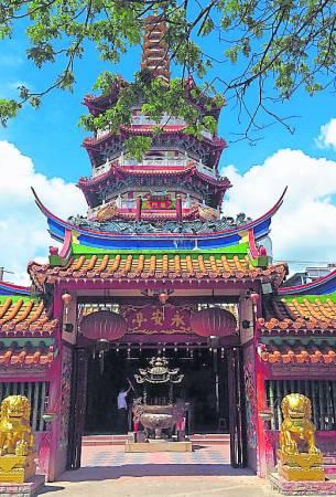 砂拉越诗巫永安亭大伯公庙