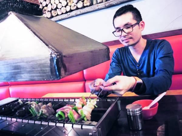 ◆ 贴心的Jason Chee在店内也备有烧烤和涮涮锅的双重享受。