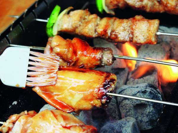 ◆ 肉串经平均自动旋转烧烤,让人爱不释口。