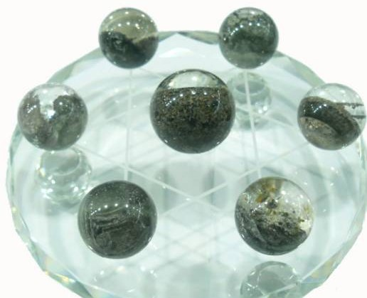 在天然绿幽灵水晶的能量下,强化学习力。