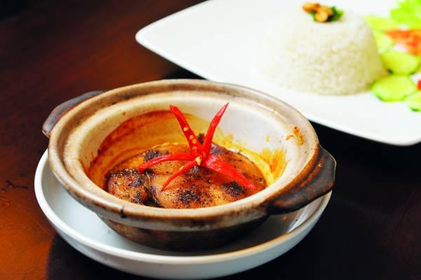 黑胡椒炒生鱼