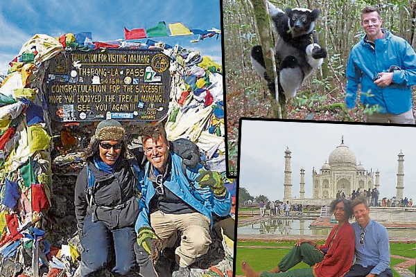 Stuart Reed喜欢四处旅游,因为可以结识到不同的朋友,让他旅游中得到更多启发。