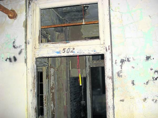 502号房是闹鬼最猛的地方。