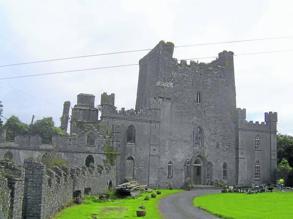 据传,在利普城堡作祟的鬼怪是一个黑色的恶魔。
