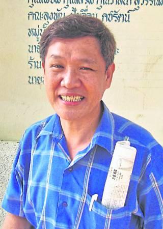 林明精表示,他已经寄出约百张印有泰皇肖像的钱币给相熟的游客。