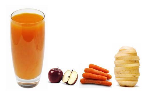 网络有一篇热帖,就是把马铃薯、红萝卜和苹果三合一榨成果汁,竟可以控制癌细胞,而且对肝硬化还有很好的疗效。到底这个三合一果汁是不是真的有如此神奇的疗效呢?且看方绣莺医师怎么说!