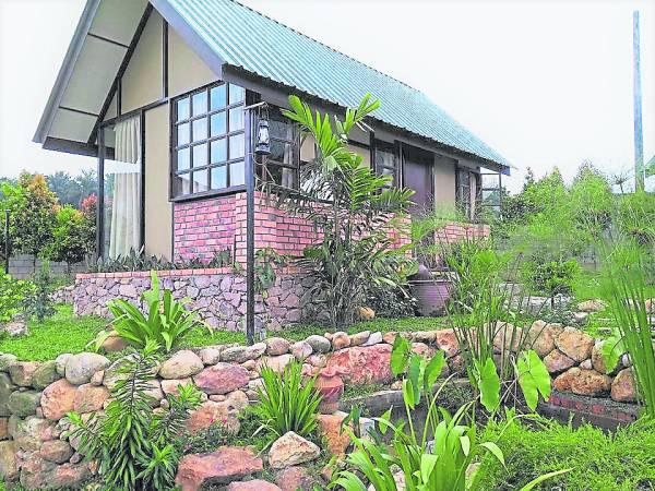 在园内拥有5间独立欧式小木屋,仿佛生活在欧式的生态中。