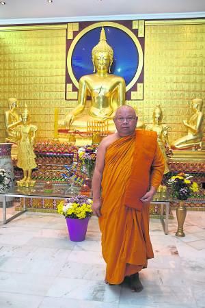 Wat Chetawan的现任主席Chao Khun Piam师父表示,泰王御赐的三宝物,如今成了镇庙之宝。