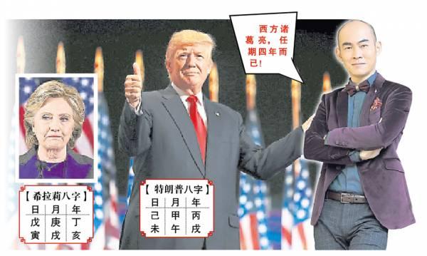 国际堪舆玄学高人——炜轩大师却惊揭,特朗普能高登美国总统宝座,全靠风水助运来击败希拉莉!