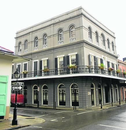 新奥尔良市的拉劳瑞公馆,在全美最恐怖的凶宅中排名第一位。