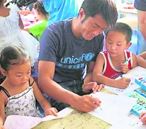 古天乐在慈善领域里贡献了不少给贫穷乡区的孩子