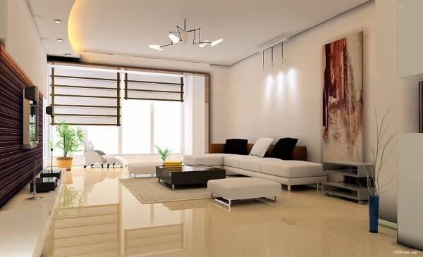 客厅也叫内明堂,宜通畅、明亮、整洁,没有杂物。