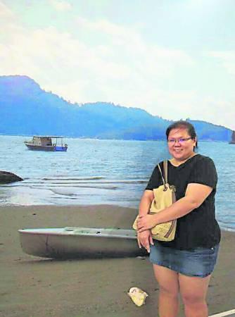 Angie在短短的两个月训练,成功将体重从98公斤掉至90公斤。