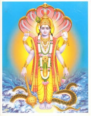 毗湿奴是印度财神爷,对信徒总是有求必应。