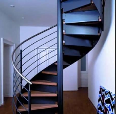 弯曲的楼梯,严重影响居家磁场。