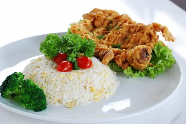 ◆蒙古炸鸡排饭