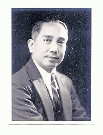 香港电影之父黎民伟。