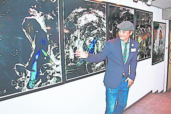任达华曾开数场画展,展 出自己30 多年来的心水作品。