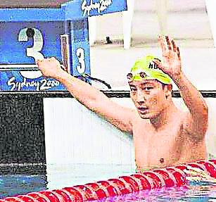 2000 年悉尼奥运会代表香港队出战的方力申。