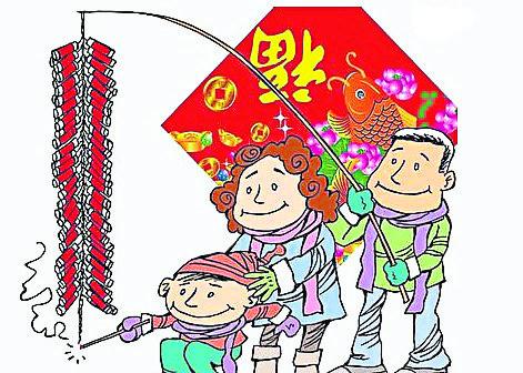 爆竹一声除旧岁,象征华人农历新年的到来。