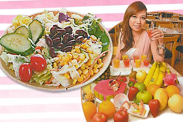 营养师建议,吃不同颜色的蔬果,对皮肤有莫大的益处,如黄色的桃、橙色的红萝卜、绿色的菠菜和芥兰,以及蓝莓和红豆,都是抗氧化食品中的最佳选择。