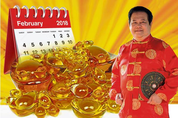 谭福祥大师解释,今年2月有最多吉日,有最多开张旺日,有中、西情人节的良缘日,有最好大扫除的祥日,可说大旺、大发的宝月。