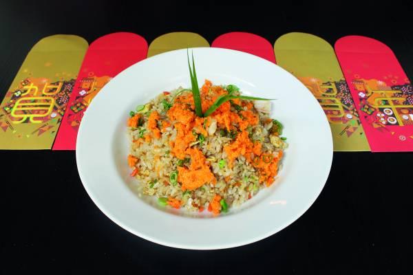 ◆蟹王金沙炒饭