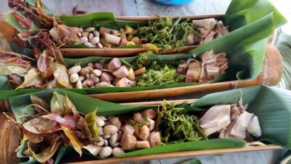 你知道这个是什么吗?这就是马来式的沙拉,你尝过吗?