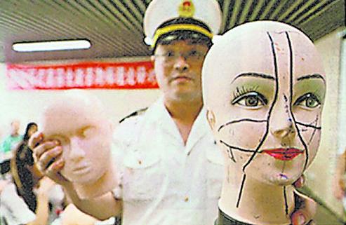 上海卫生部监督人员去年八月捣破一个医学美容班,检获大批无注册的药物及医疗器材。