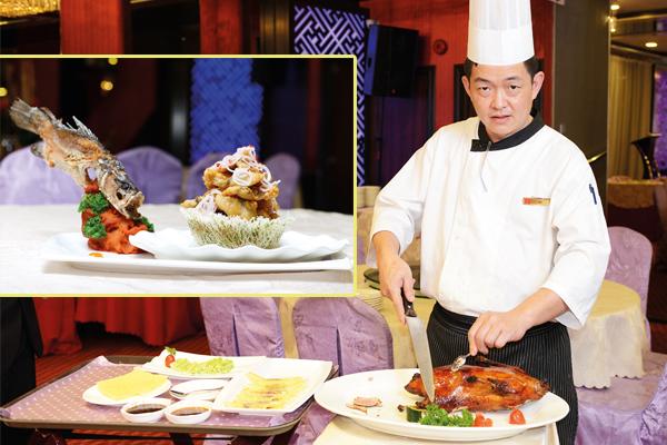 ◆张伟豪融入多国的烹煮法,让人增加食欲。
