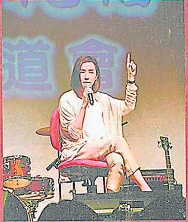 身为基督教徒的毛舜筠不时出席教会活动,无私分享其赚钱心德。