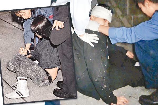 一名夜闯古宅的青年无故跌伤,最后得送院医治。