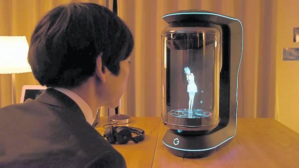 日本火爆一款虚拟伴侣。