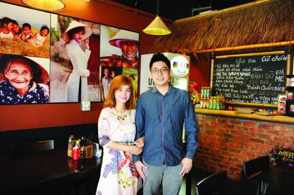 ◆Alex Lee与Mimi Nguyen精心打造越南正宗风味佳肴。