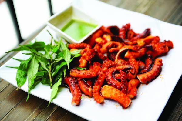 ◆越式炭烤章鱼