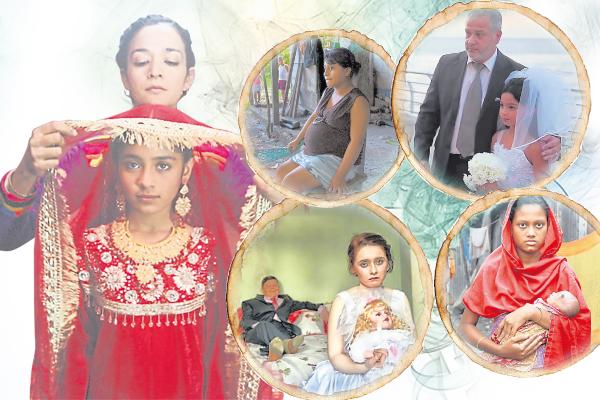 全球童婚的频率,据统计已达到每两秒就有一单童婚个案发生,情况远比我们想象得严重。