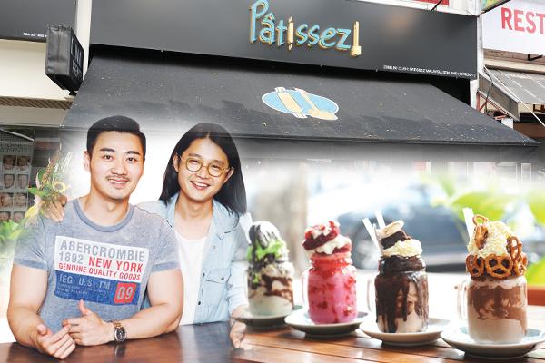 "◆""Patissez""负责人Sean Chan(左)勇敢挑战,让潮流新鲜感捉住年轻人的味蕾。"
