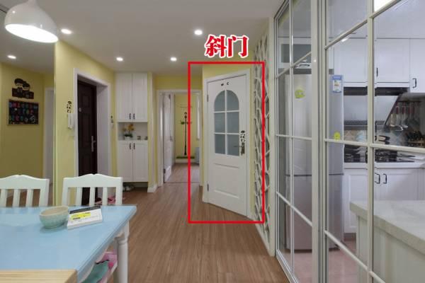 居家和正规行业不合适设斜门,除非特殊情况。