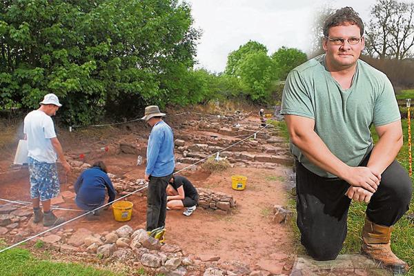 Stuart Wilson花了13年的时间,终于把古城重新发掘出来。