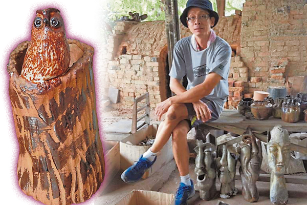 陈伟炎坚持古法制造陶瓷,并希望将陶瓷文化传承下去。
