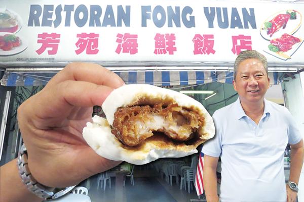 ◆爱吃的赵令芳,以广西菜诱得食客胃口大开。