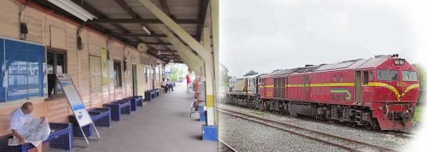 年代久远的火车站,为过去的立卑带来不少繁荣。
