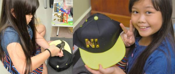 Amelia手艺超群,一顶一顶的帽子在她的巧手下制作出来,赢得众人的赞赏。