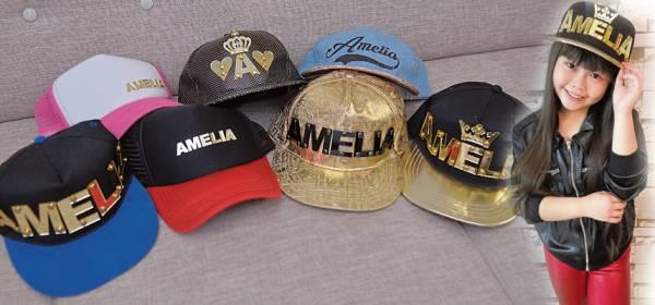 Amelia设计的时尚潮帽,让本地及国外艺人掀起一股潮帽趋势!